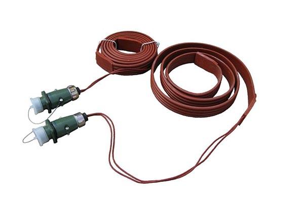 硅橡胶电加热带